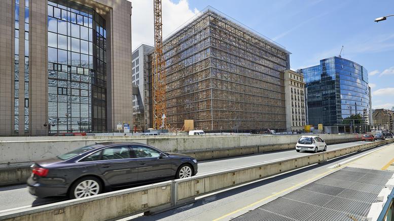 Ομαδική δηλητηρίαση από χημικά στο κτίριο Europa της ΕΕ