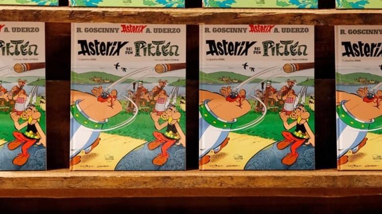 Σε τιμή ρεκόρ 1,4 εκατ. πουλήθηκε αυθεντικό εξώφυλλο του Αστερίξ