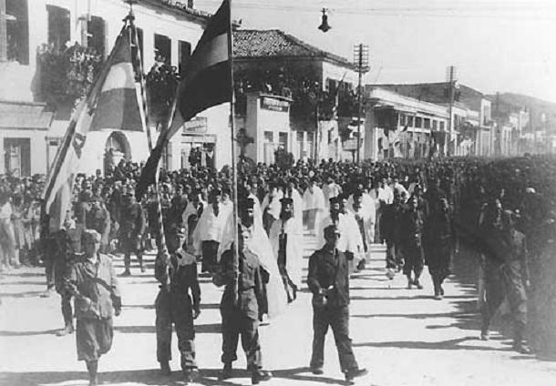 Εκδηλώσεις του ΚΚΕ για τα 73 χρόνια από την απελευθέρωση του Βόλου