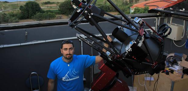 Διάκριση Σκιαθίτη ερασιτέχνη αστρονόμου