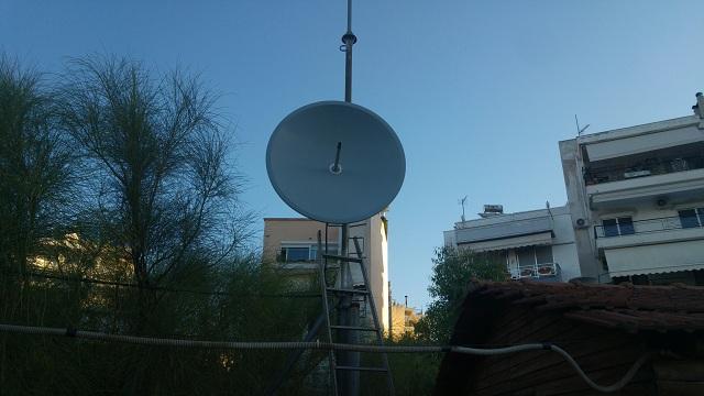 Κατέστρεψαν την κεραία εκπομπής του ράδιο link της ΕΡΤ Βόλου