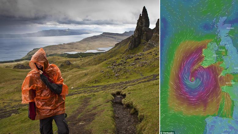 Οφηλία: Η «Μεγάλη Καταιγίδα» απειλεί Ιρλανδία και Βρετανία