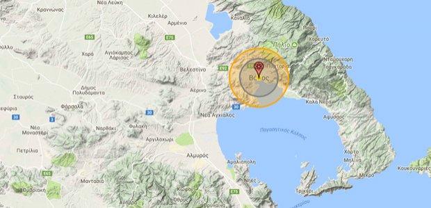 Δείτε το site του πυρηνικού πολέμου -Τι θα συμβεί αν πέσει πυρηνική βόμβα στoν Βόλο [διαδραστικός χάρτης]