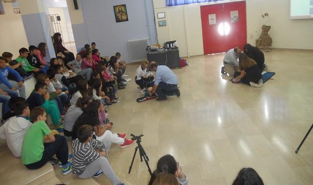 Οι μαθητές του Γυμνασίου Ευξεινούπολης μαθαίνουν να σώζουν ζωές