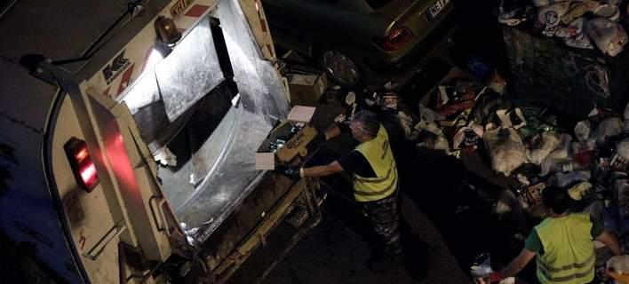 Ακρωτηριάστηκε εργαζόμενος καθαριότητας από σακούλα σκουπιδιών που έσκασε στα χέρια του