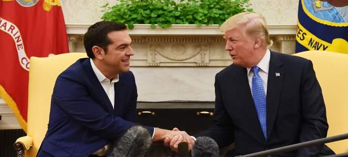 Συνάντηση Τσίπρα-Τραμπ στον Λευκό Οίκο