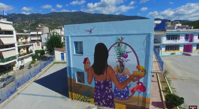 Εντυπωσιακό βίντεο με τις τοιχογραφίες της Urban Act