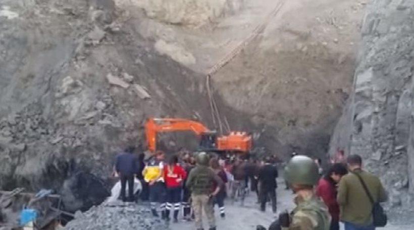 Κατέρρευσε τμήμα ανθρακωρυχείου στην Τουρκία. Τουλάχιστον 7 νεκροί εργάτες