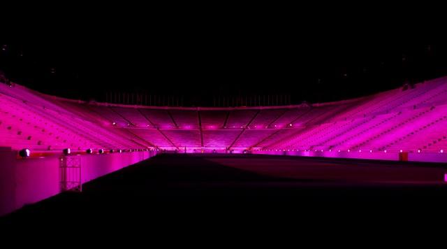 Στα ροζ το Καλλιμάρμαρο για την πρόληψη του καρκίνου του μαστού [εικόνες]