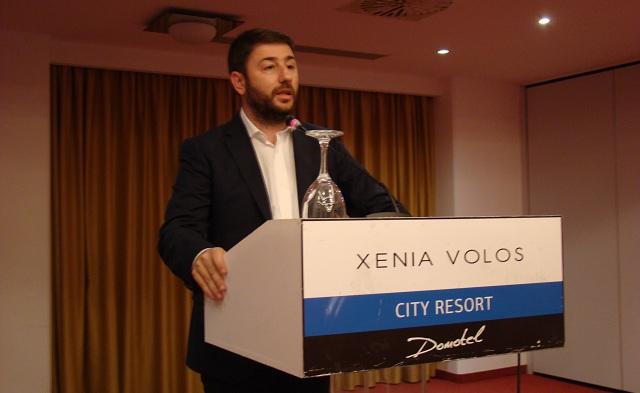 Ν. Ανδρουλάκης: Πρότυπο η «Δημοκρατική Ελιά»