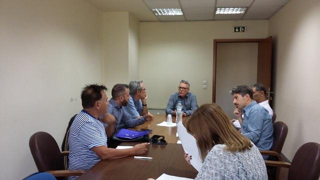 Συνάντηση Μεϊκόπουλου στο Υπ. Περιβάλλοντος για τα λατομεία του Πηλίου