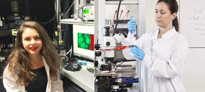 Δύο Ελληνίδες κέρδισαν την υποτροφία L'Oreal-UNESCO για έρευνα σε κύτταρα και σχιζοφρένεια [εικόνες]