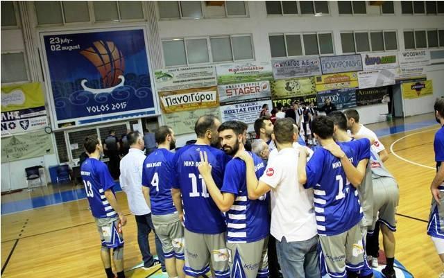 Μεγάλο διπλό στη Βέροια για την ομάδα μπάσκετ της Νίκης Βόλου