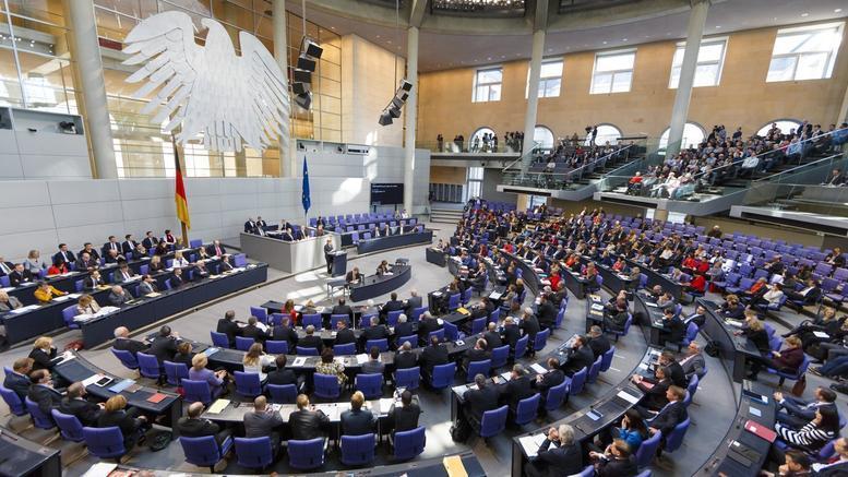 Πρεμιέρα για τη νέα γερμανική Βουλή με Σόιμπλε και ακροδεξιά