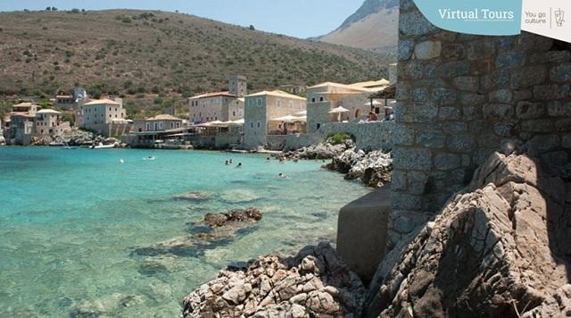 Διαδικτυακή –διαδραστική πλατφόρμα εικονικών ξεναγήσεων (Virtual Tours) σε προορισμούς ανά την Ελλάδα