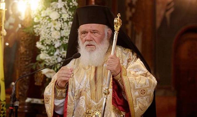 Ο Αρχιεπίσκοπος σήμερα στον Αλμυρό