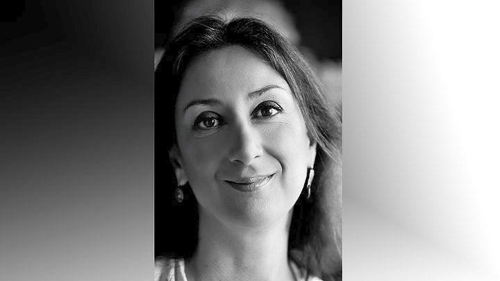 Επιμνημόσυνη δέηση για την δημοσιογράφο Κ. Γκαλιζία, απόντων των συγγενών της