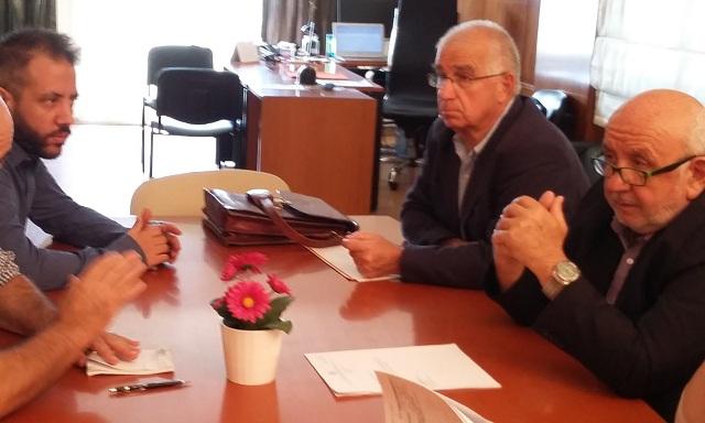 Συνάντηση στο Υπουργείο για το έργο διαχείρισης αστικών λυμάτων της Γλώσσας