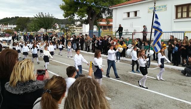 Με λαμπρότητα ο εορτασμός της 28ης Οκτωβρίου στην Αλόννησο