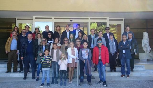 Επίσκεψη – περιήγηση των δημοσιογράφων στο Διαχρονικό Μουσείο Λάρισας