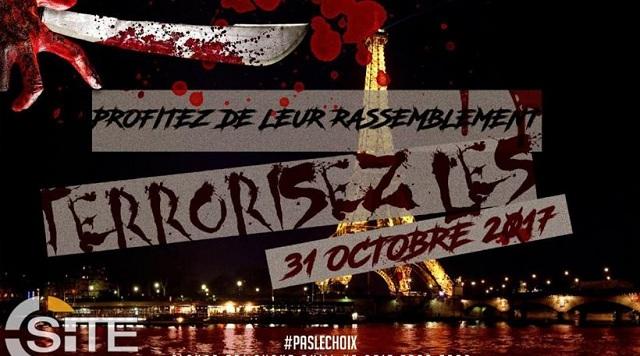 Ματωμένος ο Πύργος του Άιφελ: Τζιχαντιστές απειλούν με επιθέσεις σε όλη την Ευρώπη