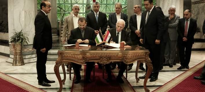 Παλαιστινιακή Αρχή και Χαμάς υπέγραψαν συμφωνία-τεστ για τη συμφιλίωση των Παλαιστινίων