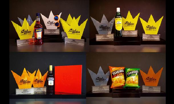 13 βραβεία για τα brands της Coca-Cola Τρία Έψιλον στα Social Media Awards 2017