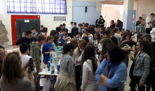 Ενδιαφέρουσα δράση ενημέρωσης στο Γυμνάσιο Ευξεινούπολης