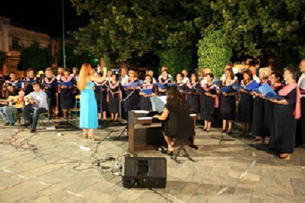 Εμφάνιση της τετράφωνης Μικτής Χορωδίας Αλμυρού στο Μέγαρο Μουσικής Θεσσαλονίκης