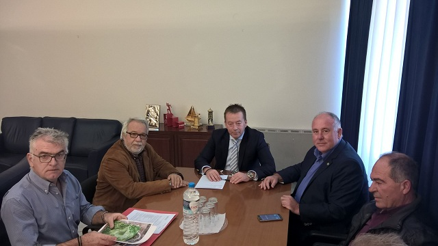 Συνάντηση στο Υπουργείο για οριστική λύση στη διανομή εκτάσεων της Κάρλας