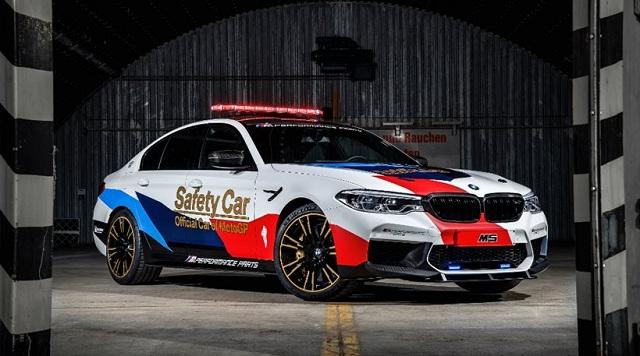 Η BMW M5 στο MotoGP