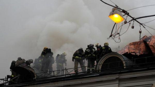 Φωτιά στο Μουσείο Πούσκιν στη Μόσχα