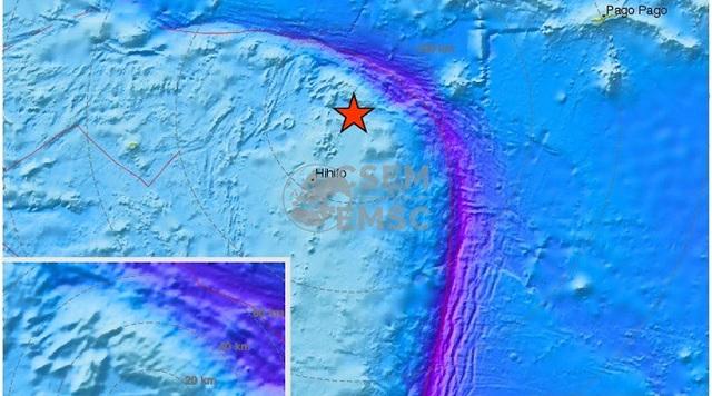 Ισχυρός σεισμός 6,9 Ρίχτερ στα νησιά Σαμόα