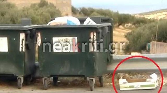 Ηράκλειο: Πολτοποίησαν κουταβάκια και τα πέταξαν στα σκουπίδια!