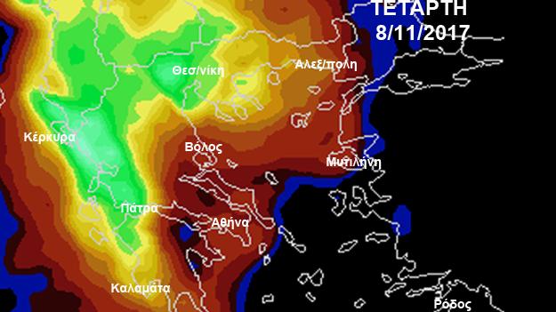 Βροχερός ο Νοέμβριος: Σημαντική αλλαγή του καιρού από Τετάρτη