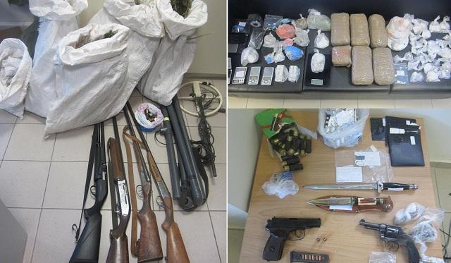 Η δράση δύο εγκληματικών οργανώσεων σε Βόλο, Λάρισα, Λαμία, Γρεβενά