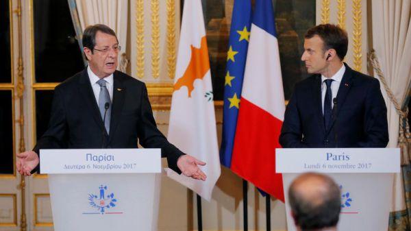 Η Γαλλία θα στηρίξει την Κύπρο στις διαπραγματεύσεις για το Κυπριακό
