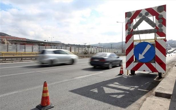 Κλείνει η ΠΕΟ Αθήνας-Θεσσαλονίκης στη διασταύρωση Συκουρίου