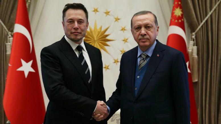 Ο Ελον Μασκ στο παλάτι του Ερντογάν για το πρώτο τουρκικό αυτοκίνητο