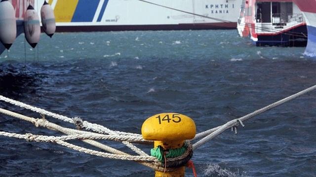 Δεμένα για δύο μέρες θα μείνουν τα πλοία στα λιμάνια της Κέρκυρας και Ηγουμενίτσας