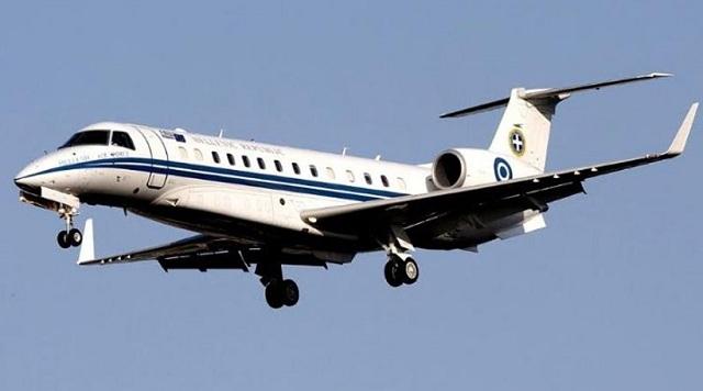 «Γέφυρα ζωής»: Mεταφορά ασθενούς στην Ιταλία με αεροσκάφος της Πολεμικής Αεροπορίας