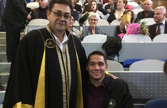 Αποστόλης Τσαούσης: Εκφώνησε τον όρκο στην Πολυτεχνική Σχολή