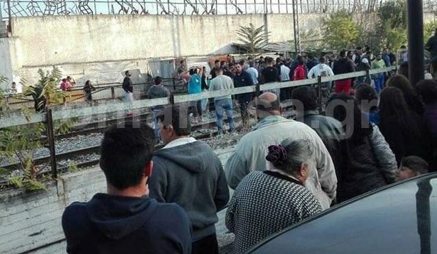 Τρένο παρέσυρε και σκότωσε 12χρονο στη Λάρισα