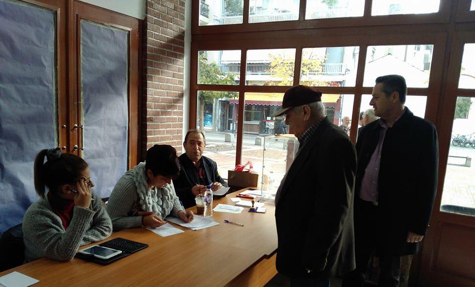 Καρδίτσα: Ομαλά οι εκλογές για Πρόεδρο της Κεντροαριστεράς