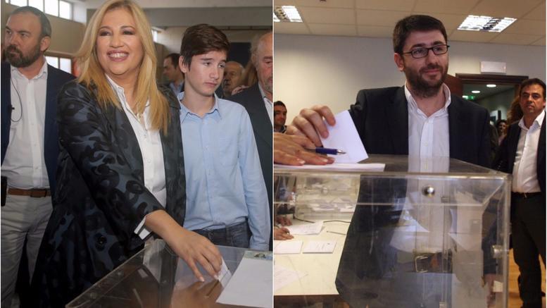 Θρίλερ στην κάλπη: Στο 48,6% η Γεννηματά, 26% ο Ανδρουλάκης
