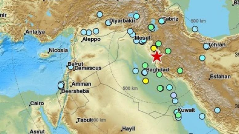 Ισχυρός σεισμός 7,2 Ρίχτερ στα σύνορα Ιράκ και Ιράν