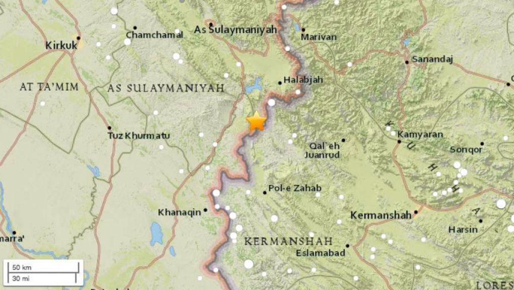 Νεκροί & τραυματίες από τον μεγάλο σεισμό 7,3 Ρίχτερ στα σύνορα Ιράν-Ιράκ (video)