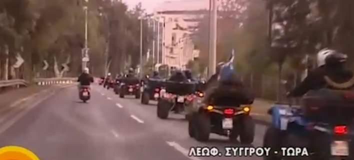 Απόβαση Κρητικών με «γουρούνες» στο λιμάνι του Πειραιά. Διαμαρτύρονται για τον νέο ΚΟΚ