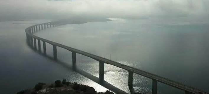 Η ομίχλη «κατάπιε» τη γέφυρα της Νεράιδας στην Κοζάνη [βίντεο]