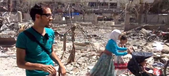 Συρία: Βομβάρδισαν αποθήκη με τρόφιμα και φάρμακα στην Ντούμα